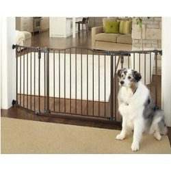MyPet Windsor Extra Wide Arch Pet Gate for Dogs & Cats found on Bargain Bro India from Chewy.com for $83.99