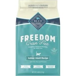 Blue Buffalo Freedom Indoor Adult Fish Recipe Grain-Free Dry Cat Food, 5-lb bag found on Bargain Bro India from Chewy.com for $20.99