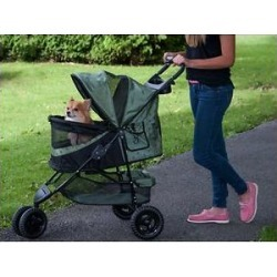 Pet Gear Special Edition No-Zip Dog & Cat Stroller, Sage found on Bargain Bro India from Chewy.com for $115.99