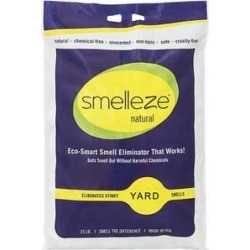 Smelleze Natural Yard Odor Removal Deodorizer Granules, 25-lb bag found on Bargain Bro India from Chewy.com for $124.98