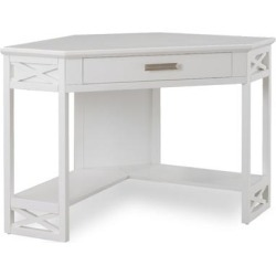 Home Office Corner Computer/Writing Desk in White found on Bargain Bro India from totally furniture for $208.69