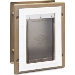 Wall Entry Aluminum Pet Door™- Small found on Bargain Bro Philippines from petsafe.net dynamic for $69.99