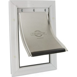 Freedom® Aluminum Pet Door- Small found on Bargain Bro Philippines from petsafe.net dynamic for $49.99