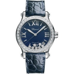 Chopard Happy Sport Ladies' Stainless Steel Strap Watch found on MODAPINS from Ernest Jones UK for USD $17624.58