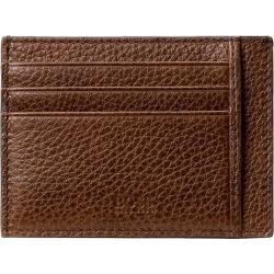 BOSS Men's Brown Leather Cardholder found on Bargain Bro UK from Ernest Jones UK
