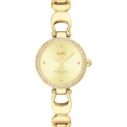 Coach Park Ladies' Gold Plated Signature C Bracelet Watch found on Bargain Bro UK from Ernest Jones UK