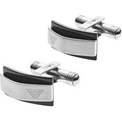 Emporio Armani Stainless Steel Form Cufflinks found on Bargain Bro UK from Ernest Jones UK