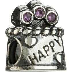 Chamilia - Sterling Silver Happy Birthday Bead found on Bargain Bro UK from Ernest Jones UK