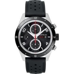 Montblanc Timewalker Men's Black Leather Strap Watch found on MODAPINS from Ernest Jones UK for USD $4345.84