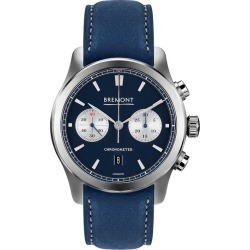Bremont Alt1-C Men's Blue Leather Strap Watch found on MODAPINS from Ernest Jones UK for USD $6256.07