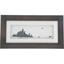 Sharon Nowland 'Four of Us' Wood Framed Picture found on Bargain Bro UK from H Samuel