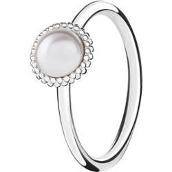 Chamilia Wisdom Swarovski Pearl Ring Small found on Bargain Bro UK from Ernest Jones UK