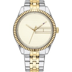Tommy Hilfiger Lee Ladies' Two Tone Bracelet Watch found on Bargain Bro UK from Ernest Jones UK