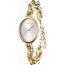 Calvin Klein Statement Gold Tone Bracelet Watch found on Bargain Bro UK from H Samuel
