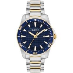 Bulova Men's Classic Gold-Tone Bracelet Watch found on Bargain Bro UK from H Samuel