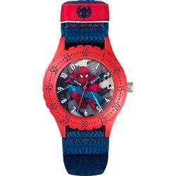 Children's Spiderman Blue & Red Velcro Strap Watch found on Bargain Bro UK from H Samuel