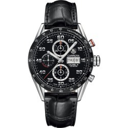 TAG Heuer Carrera men's leather bracelet watch found on MODAPINS from Ernest Jones UK for USD $5249.14