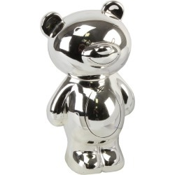 Twinkle Silver-Plated Teddy Money Bank found on Bargain Bro UK from Ernest Jones UK