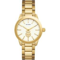 Tory Burch Collins Ladies' Yellow Gold Tone Bracelet Watch found on Bargain Bro UK from Ernest Jones UK