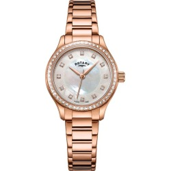 Rotary Exclusive Ladies' Rose Gold Bracelet Watch found on Bargain Bro UK from H Samuel
