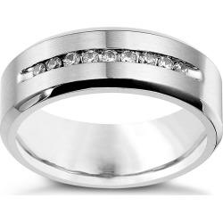 Cobalt 8mm Wedding Fifth Carat Diamond Wedding Ring found on MODAPINS from Ernest Jones UK for USD $624.98