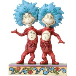 Dr Seuss Thing 1 & Thing 2 Figurine found on Bargain Bro UK from H Samuel