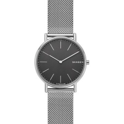 Skagen Signatur Slim Men's Mesh Bracelet Watch found on Bargain Bro UK from Ernest Jones UK