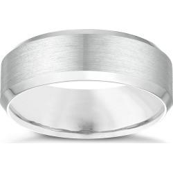 Palladium 950 7mm Bevelled Edge Wedding Ring found on MODAPINS from H Samuel for USD $1549.71