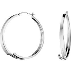 Calvin Klein Stainless Steel Beyond Hoop Earrings found on Bargain Bro UK from H Samuel