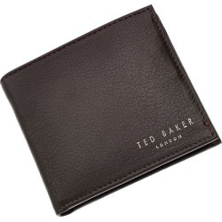 Ted Baker Harvys chocolate leather bifold wallet found on Bargain Bro UK from Ernest Jones UK