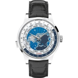 Montblanc Heritage Spirit Men's Black Leather Strap Watch found on MODAPINS from Ernest Jones UK for USD $4230.85