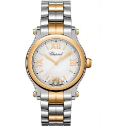 Chopard Happy Sport Ladies' Two Colour Diamond Watch found on MODAPINS from Ernest Jones UK for USD $8939.97