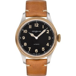 Montblanc 1858 Automatic Men's Tan Leather Strap Watch found on MODAPINS from Ernest Jones UK for USD $3382.78