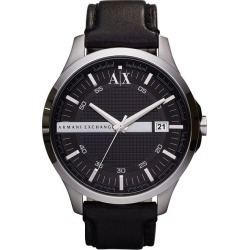 Armani Exchange Black Strap Watch found on Bargain Bro UK from H Samuel