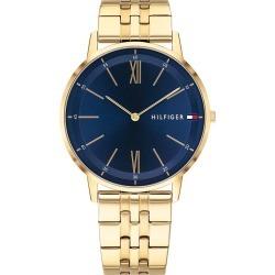 Tommy Hilfiger Men's Gold Tone IP Bracelet Watch found on Bargain Bro UK from H Samuel