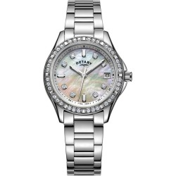 Rotary Ladies' Stainless Steel Bracelet Watch found on Bargain Bro UK from H Samuel