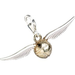 Harry Potter Sterling Silver Golden Snitch Charm