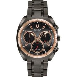 Bulova Men's Curv Chronograph Stainless Steel Bracelet Watch found on Bargain Bro from H Samuel for £291