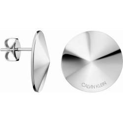 Calvin Klein Small Spinner Stainless Steel Stud Earrings found on Bargain Bro UK from H Samuel