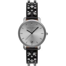 Rebecca Minkoff Billie Black Leather Strap Watch found on Bargain Bro UK from Ernest Jones UK