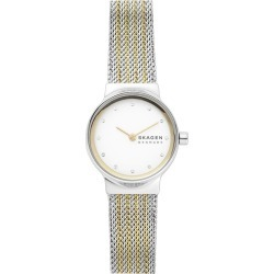 Skagen Freja Ladies' Two Tone Mesh Bracelet Watch found on Bargain Bro UK from H Samuel