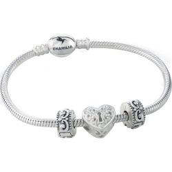 Chamilia Three Charm & Bracelet Gift Set found on Bargain Bro UK from H Samuel