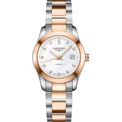 Longines Conquest Ladies' Diamond Two Colour Bracelet Watch found on MODAPINS from Ernest Jones UK for USD $3331.56