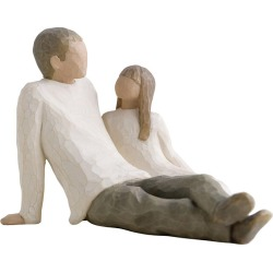 Willow Tree Father and Daughter Figurine found on Bargain Bro UK from H Samuel