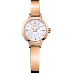 BOSS Slim Ultra Ladies' Rose Gold Tone Bracelet Watch found on Bargain Bro UK from Ernest Jones UK