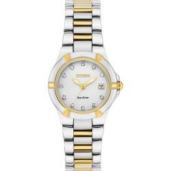 Citizen Ladies' Eco-Drive Stainless Steel Bracelet Watch found on Bargain Bro UK from H Samuel