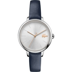 Lacoste Cannes Ladies' Blue Leather Strap Watch found on Bargain Bro UK from H Samuel