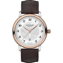 Montblanc Star Legacy Men's Brown Leather Strap Watch found on MODAPINS from Ernest Jones UK for USD $4623.28