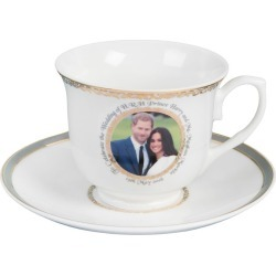 Royal Wedding Bone China Cup & Saucer found on Bargain Bro from H Samuel for £15