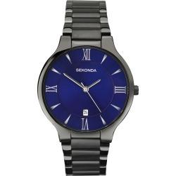 Sekonda Equinox Men's Blue Dial Bracelet Watch found on Bargain Bro UK from H Samuel